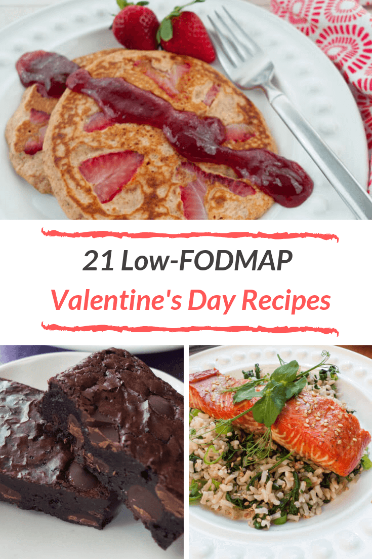 Whether it's a decadent dessert, sweet breakfast, or romantic dinner, we've got you covered with 21 low FODMAP recipes perfect for your Valentine's Day.