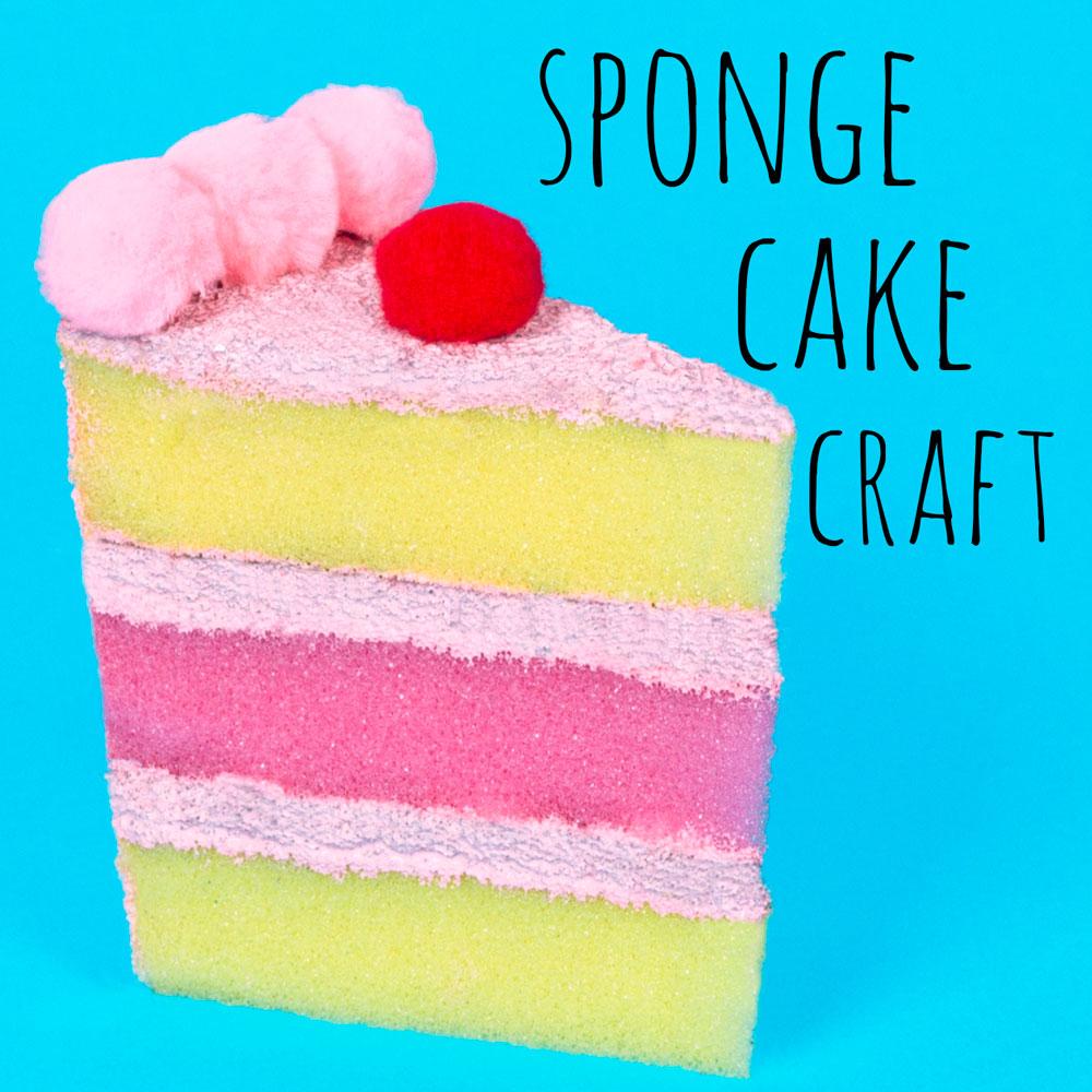 Sponge Cake Craft — Doodle and Stitch