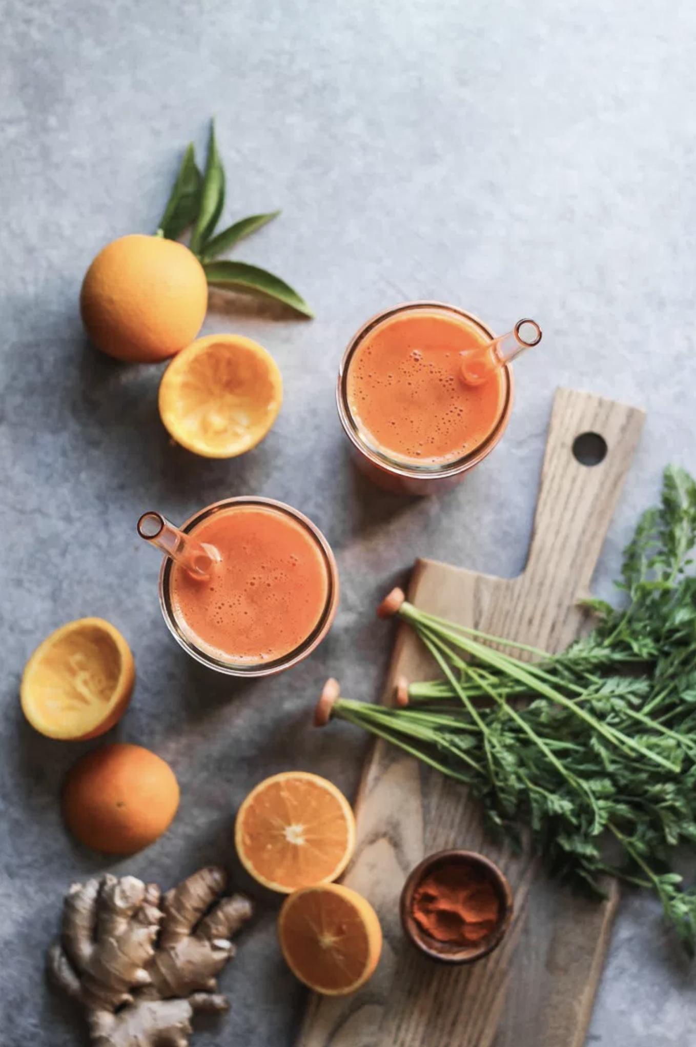 Carrot Orange Juice by Bella