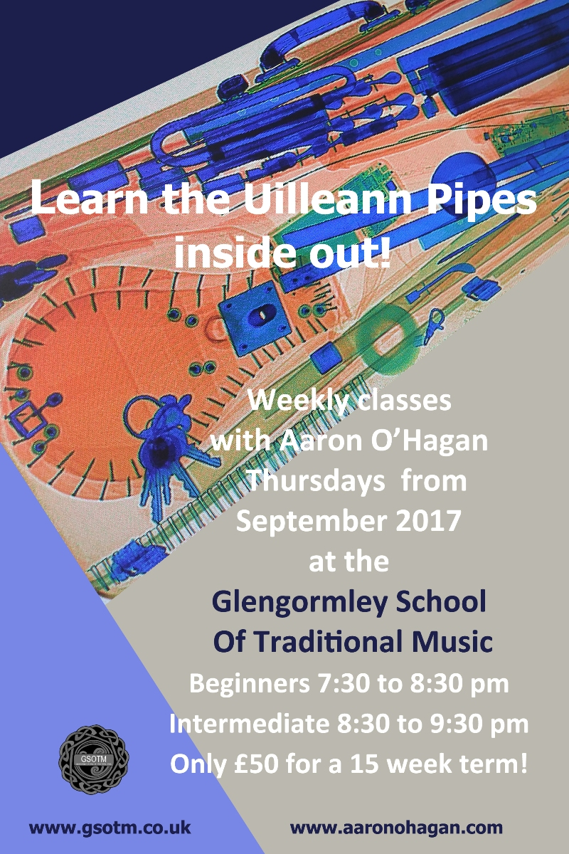 Looking forward to get back to the teaching this September, Come along to the classes for some tunes and craic !