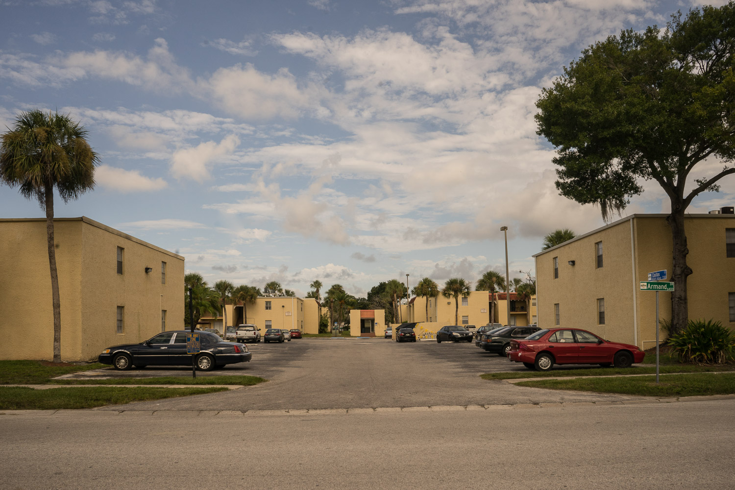 Casitas Court, Tampa, Florida where Cristine Carreras (67) moved to in 2008 having spent a lot of her life in the South Bronx, New York City.