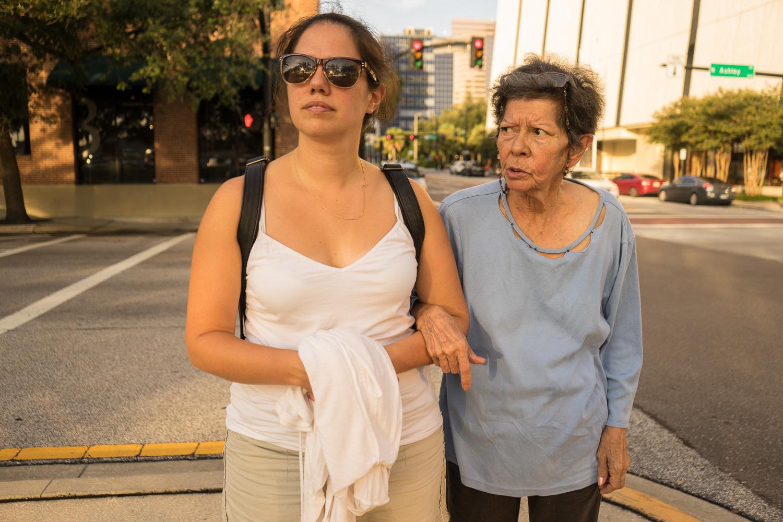 Daughter,Debora (35) and Cristine (67)