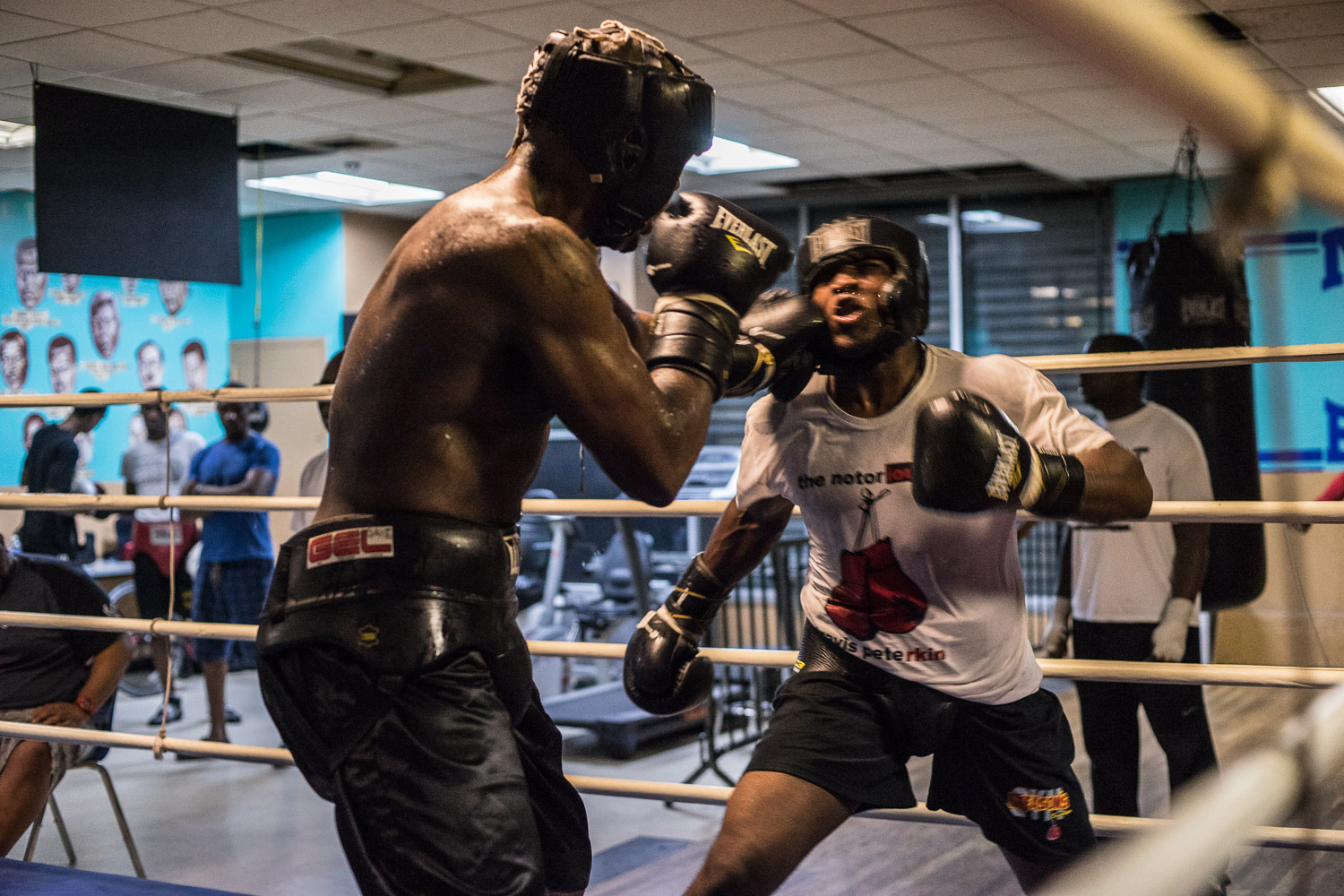 """""""We all family here"""", says Nate Boyd. Peoples' reasons for boxing vary widely. One thread that keeps people coming back is the camaraderie, welcoming atmosphere and discipline boxing gives its practitioners."""