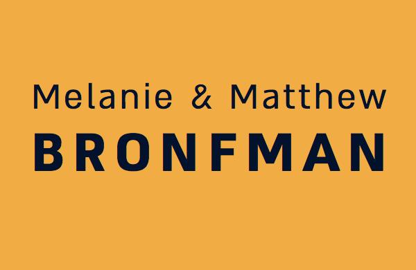 Melanie & Matthew Bronfman