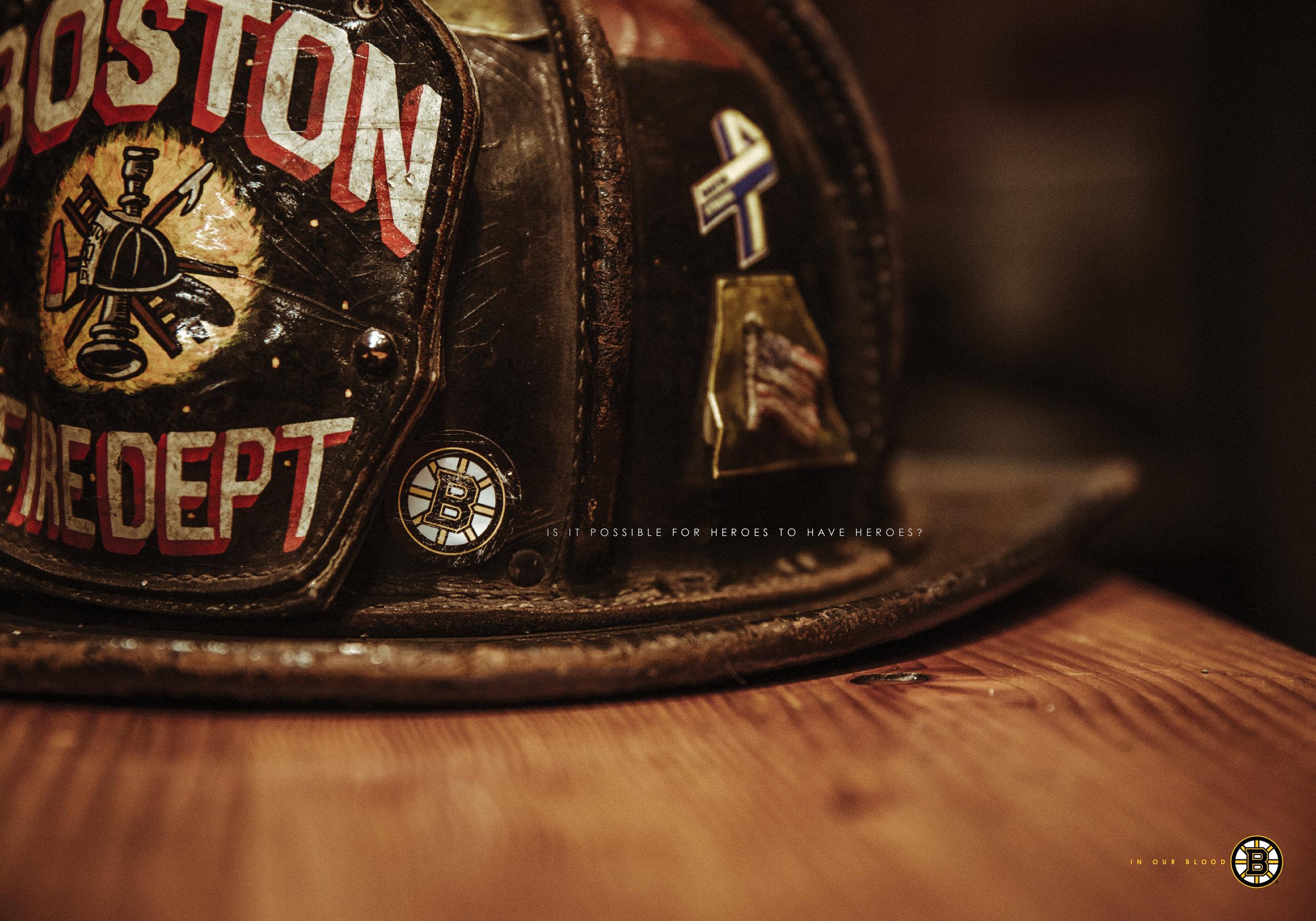 Boston Fire Helmet