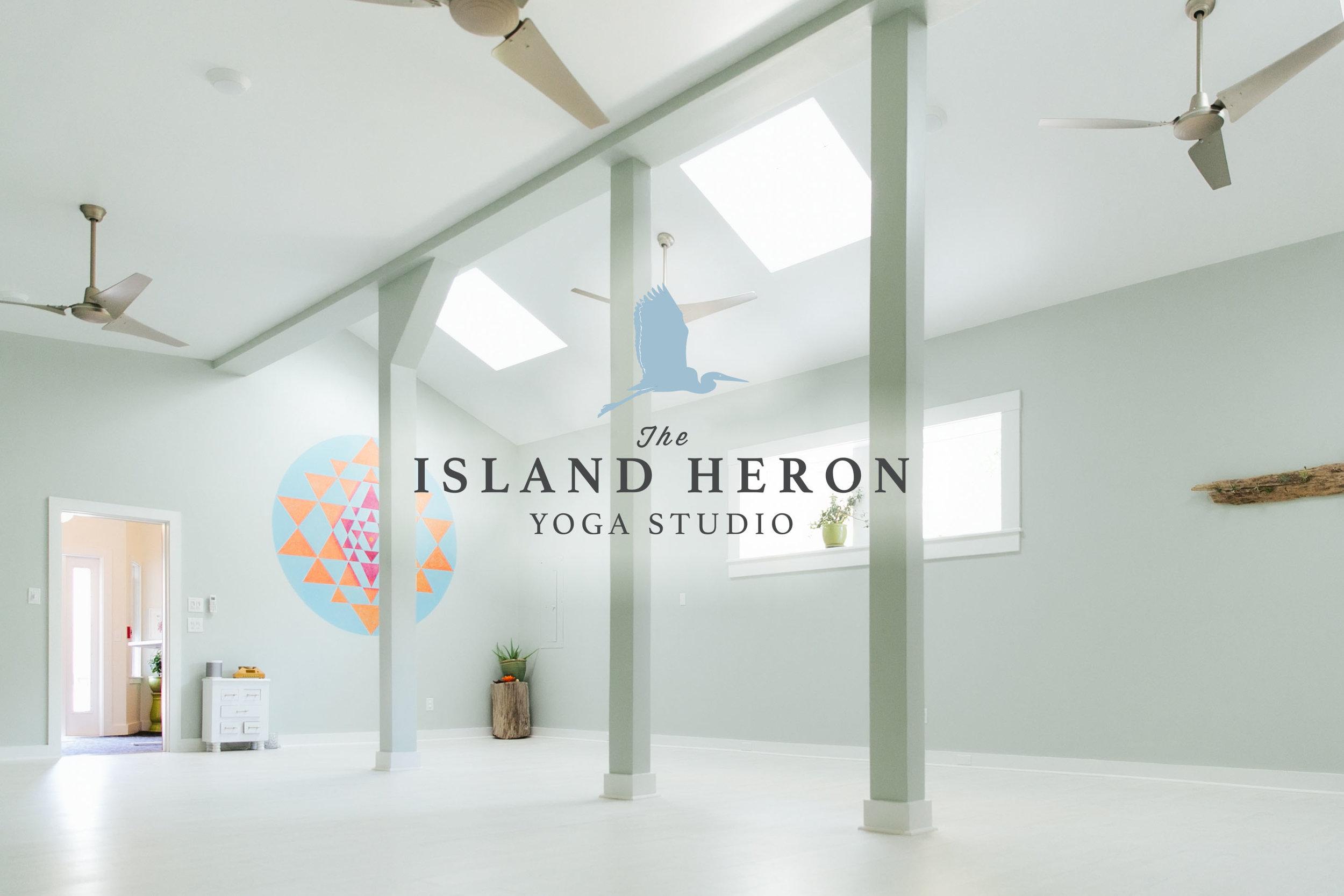 The Island Heron yoga studio, Jamestown, Rhode Island