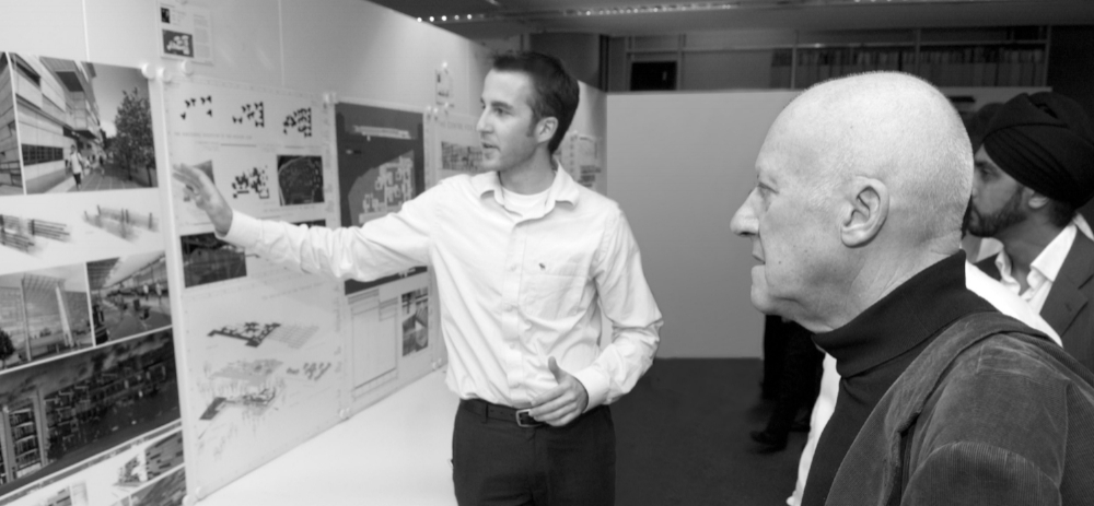 My Claim To Fame: Presenting to Lord Norman Foster