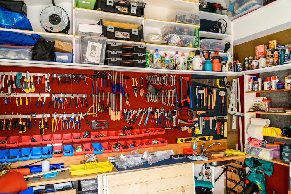7 Simple Garage Storage Ideas