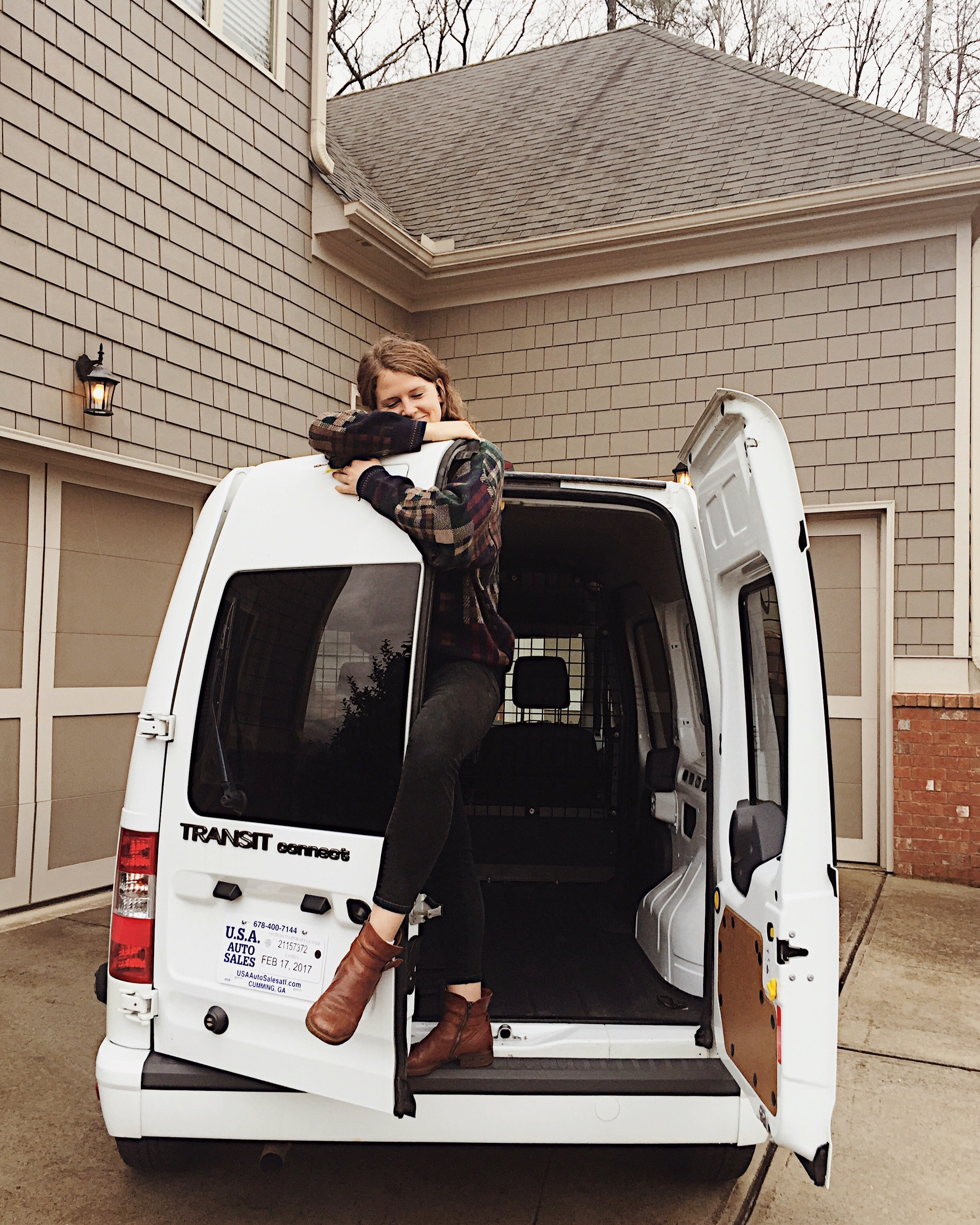 I bought a new home! Cheers to facing fear, living simply & pursuing adventure. #vanlife here I come!
