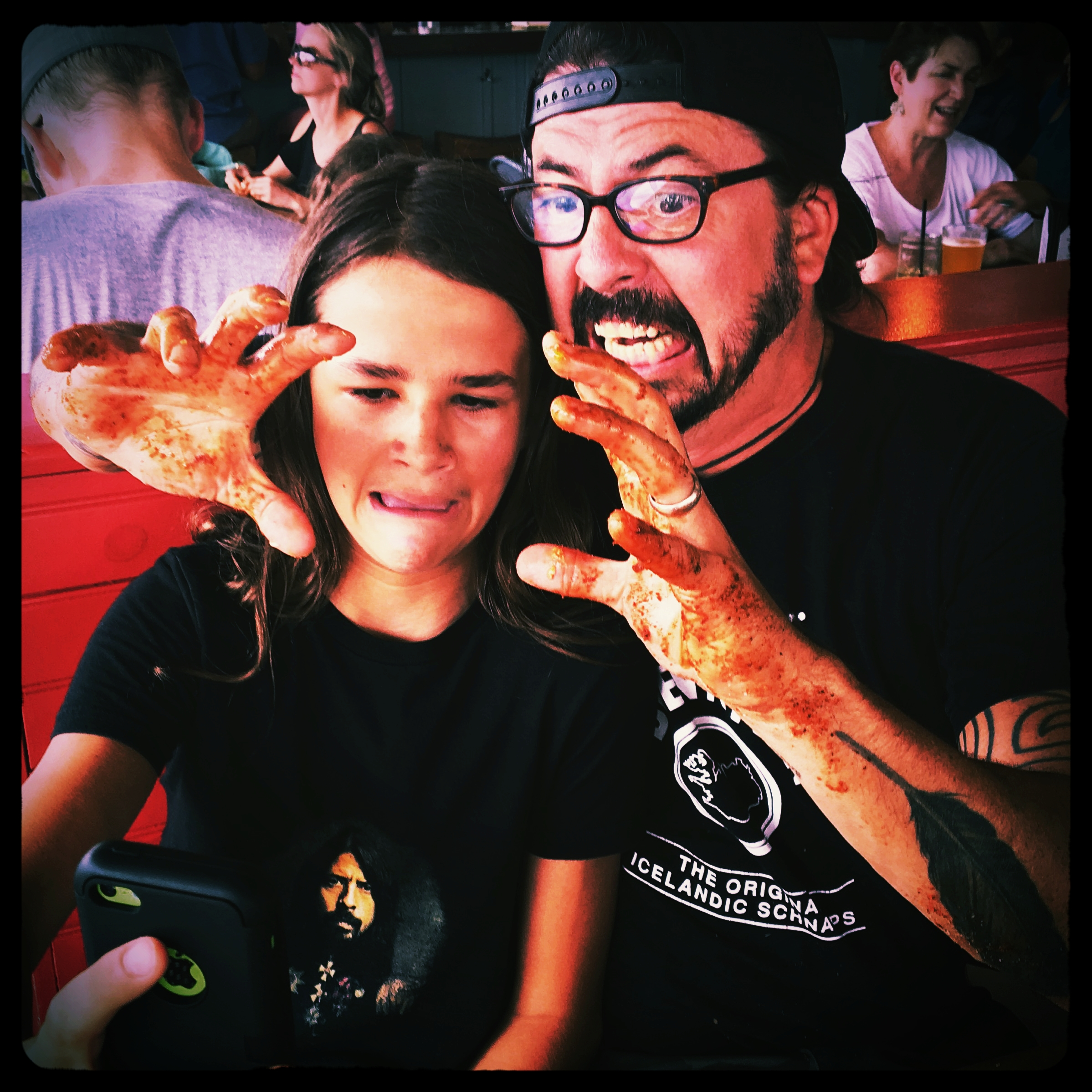 Jackson and Dave Grohl