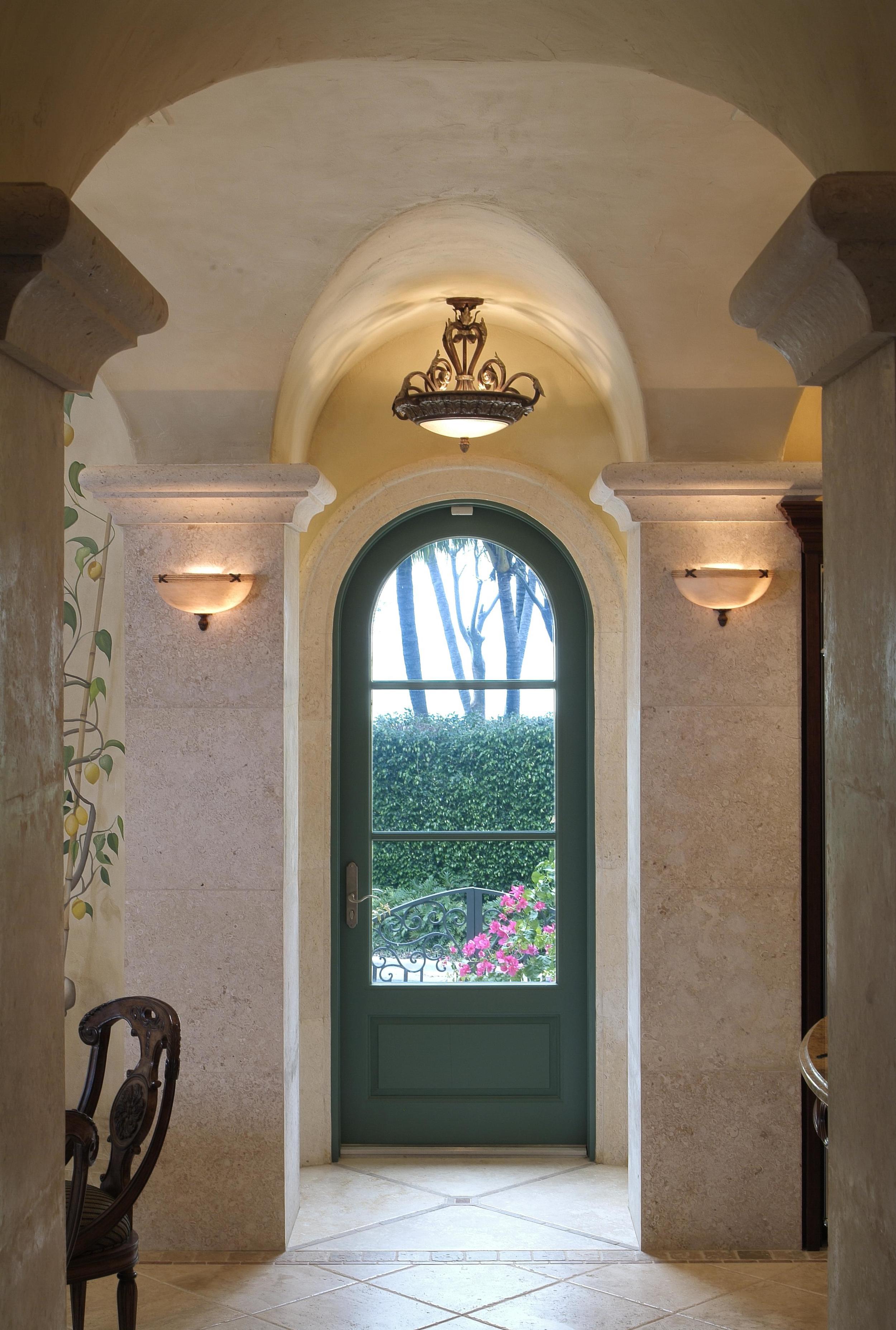 Single green radius interior.JPG