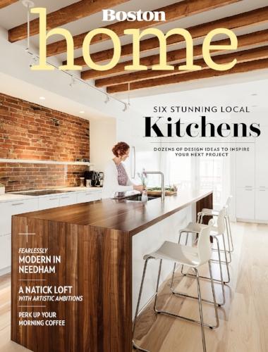 Boston Home - Kitchens 2016 Cover