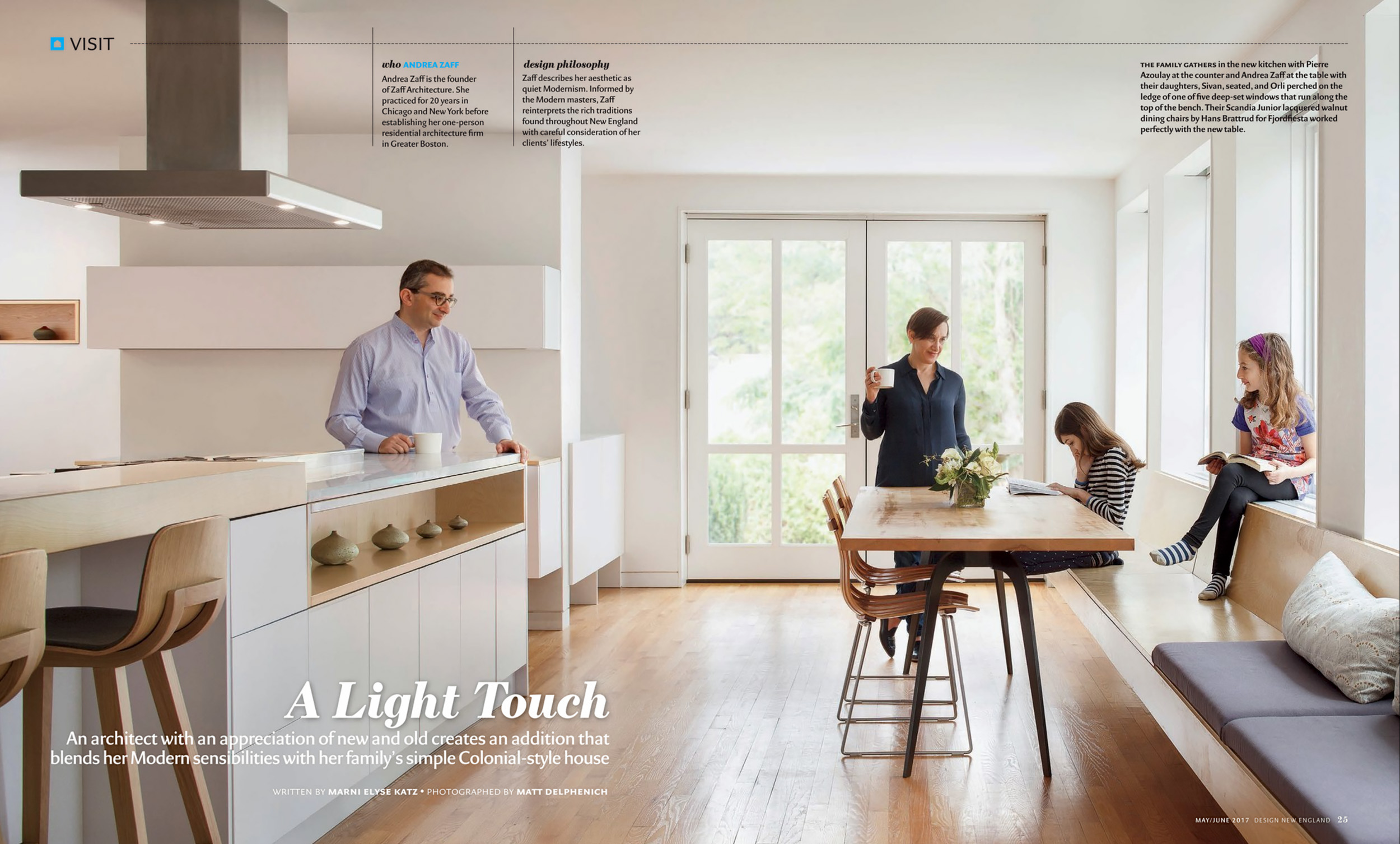 Design New England - May/June 2017