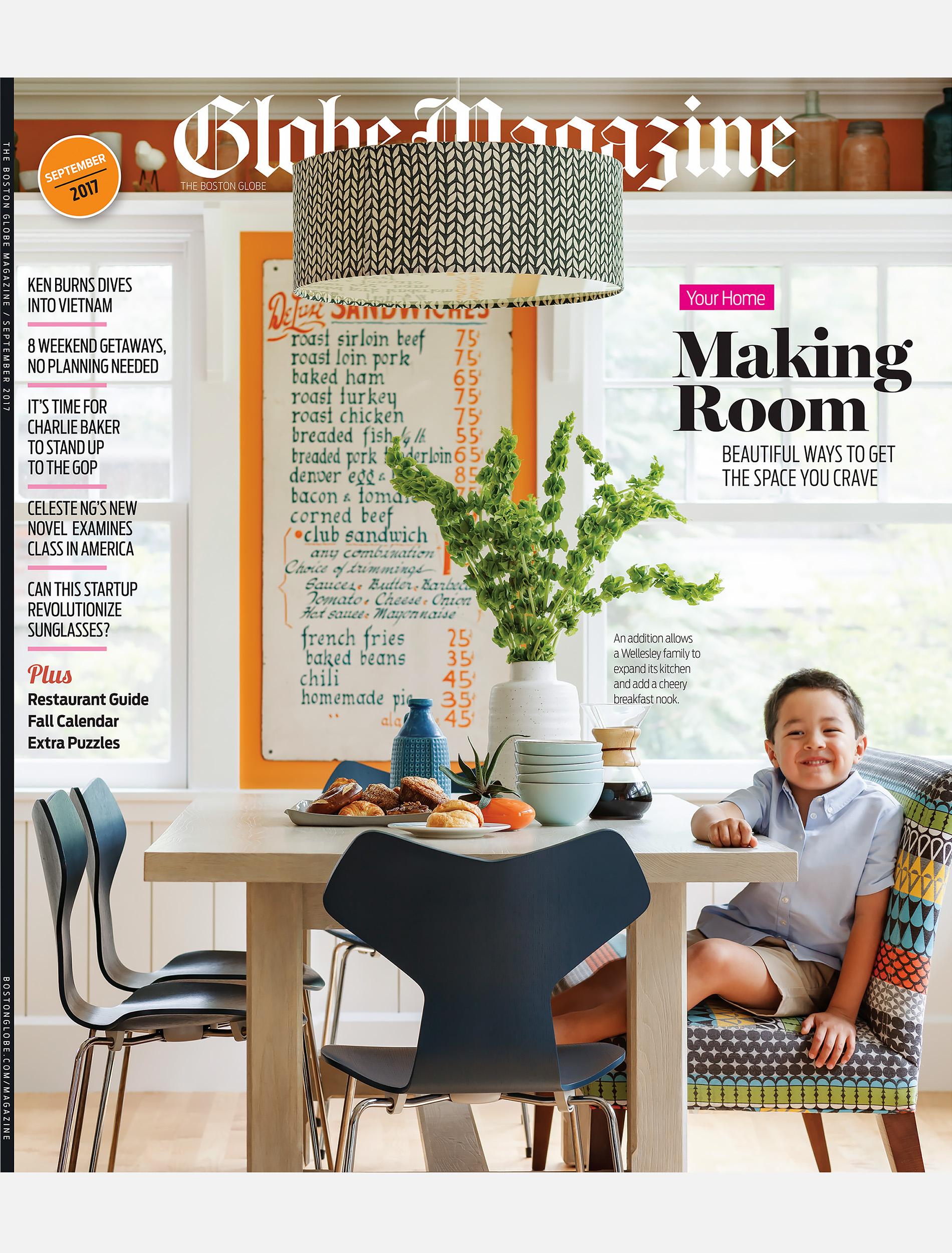 Boston Globe Magazine - Sept 10, 2017 Cover
