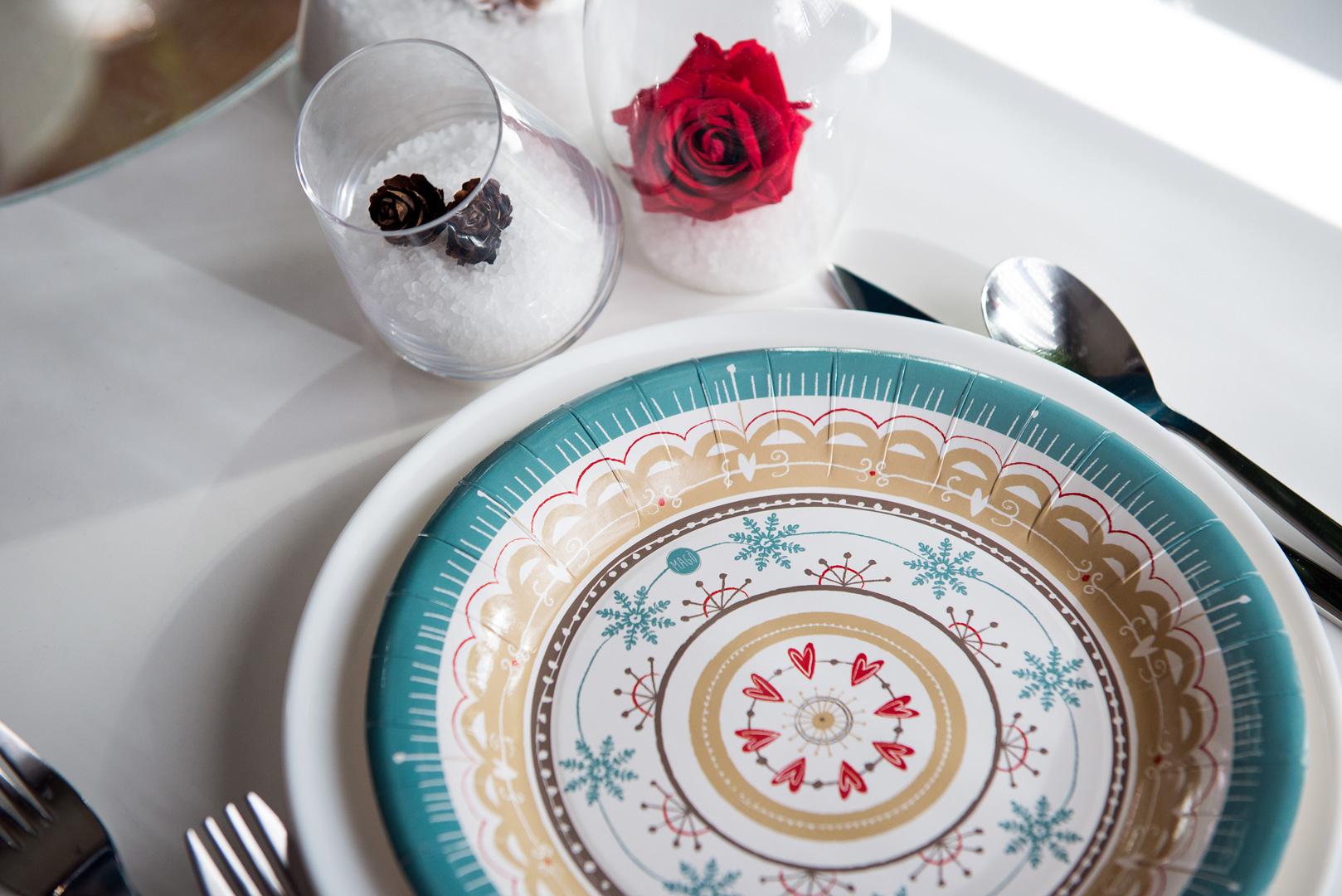 Per il Winter Party - ci siamo lasciate ispirare dai colori della stagione fredda, perfettamente abbinati alla collezioneLove di Magò.