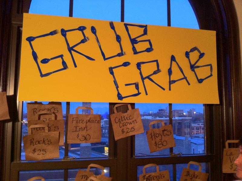 Charity Auction Grub Grab
