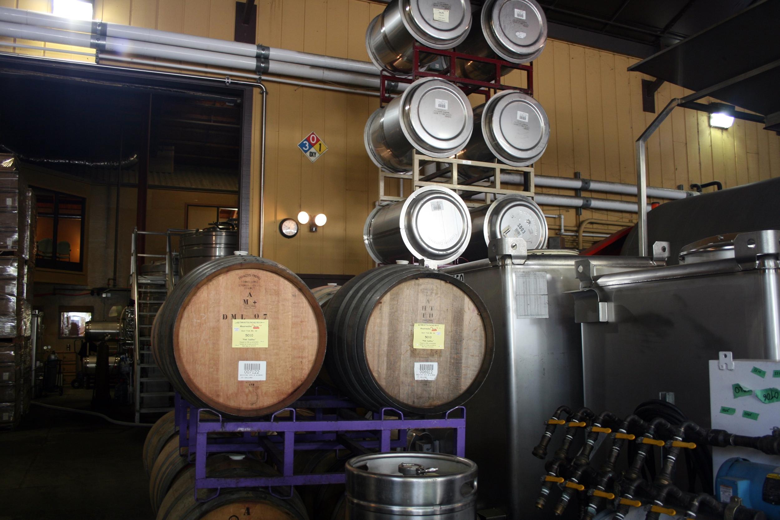 Winemaking at Quivira Vineyards