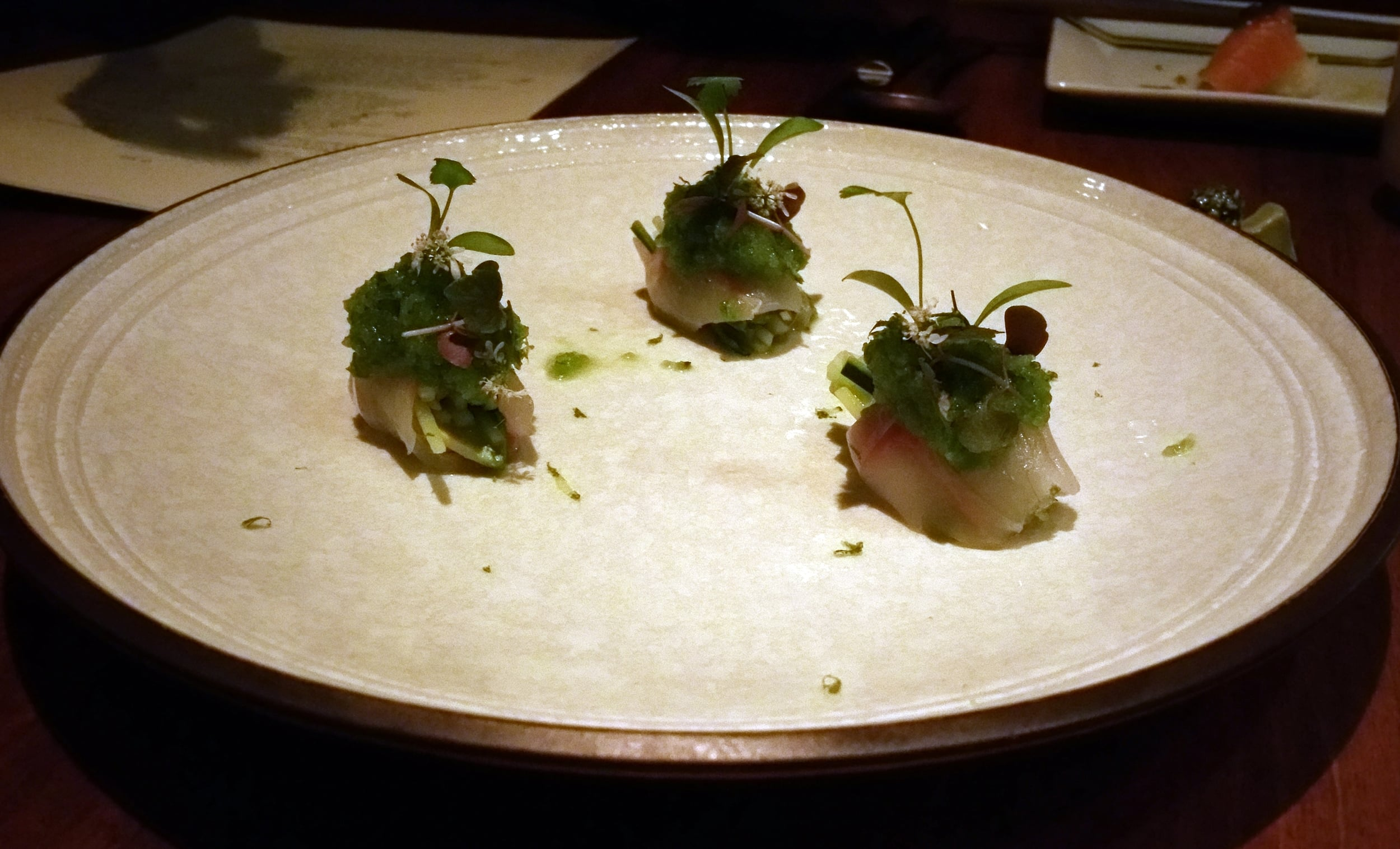 Beautiful and delicious sushi at O Ya in Boston