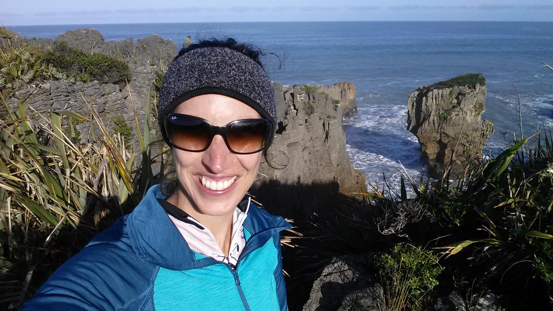 Pancake Rocks on the west coast of the South Island.