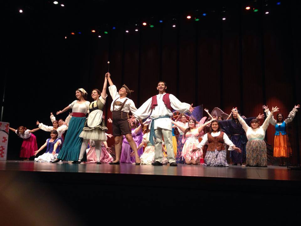 Educational Outreach production of Hansel and Gretel, 2013