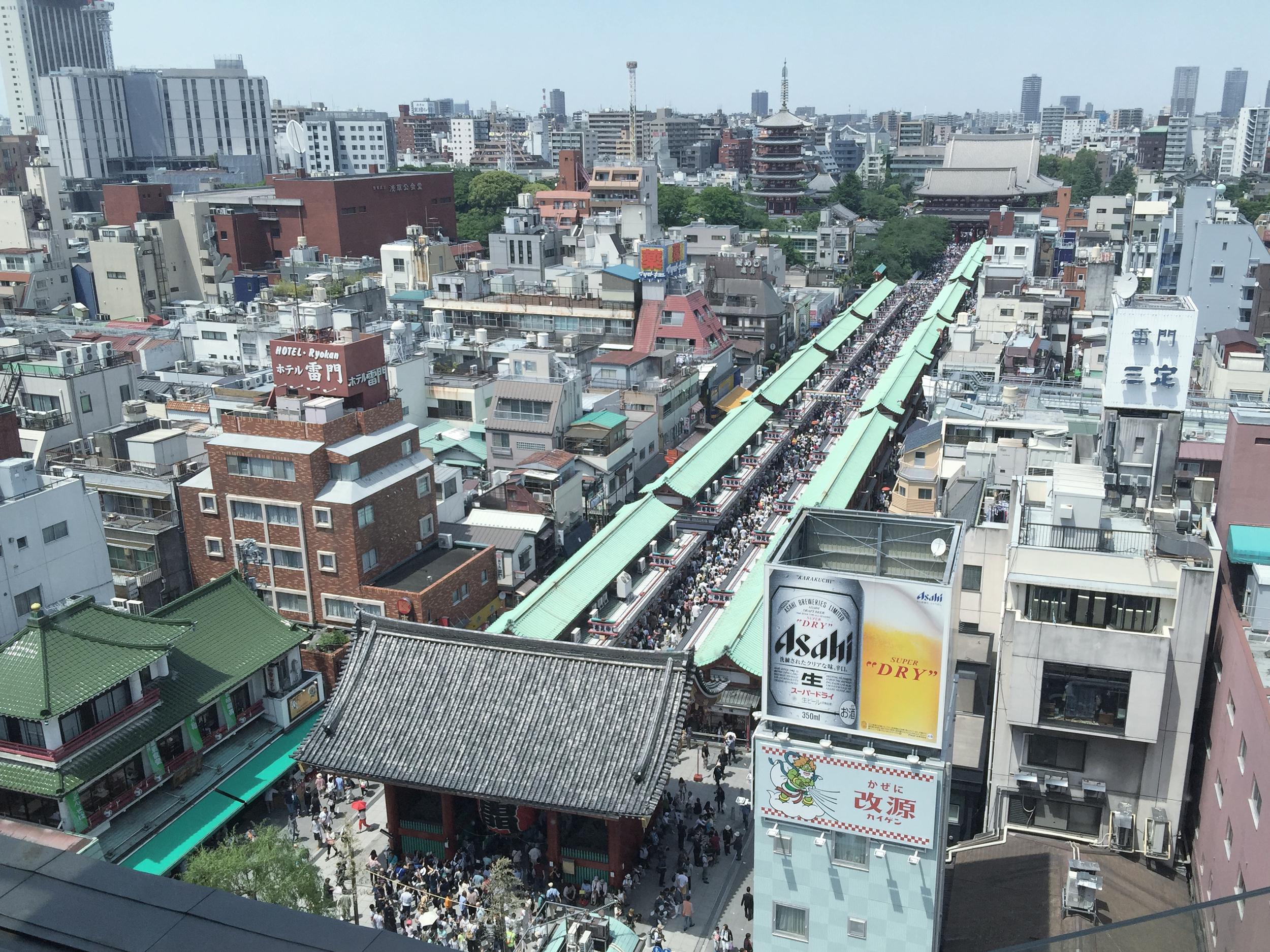 Crowd at Sanja Matsuri'15