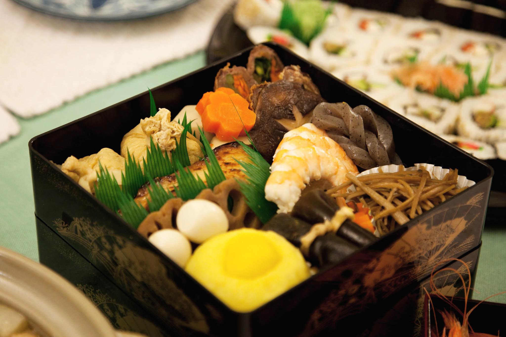 Osechi-ryori. Photo by Dave Nakayama.