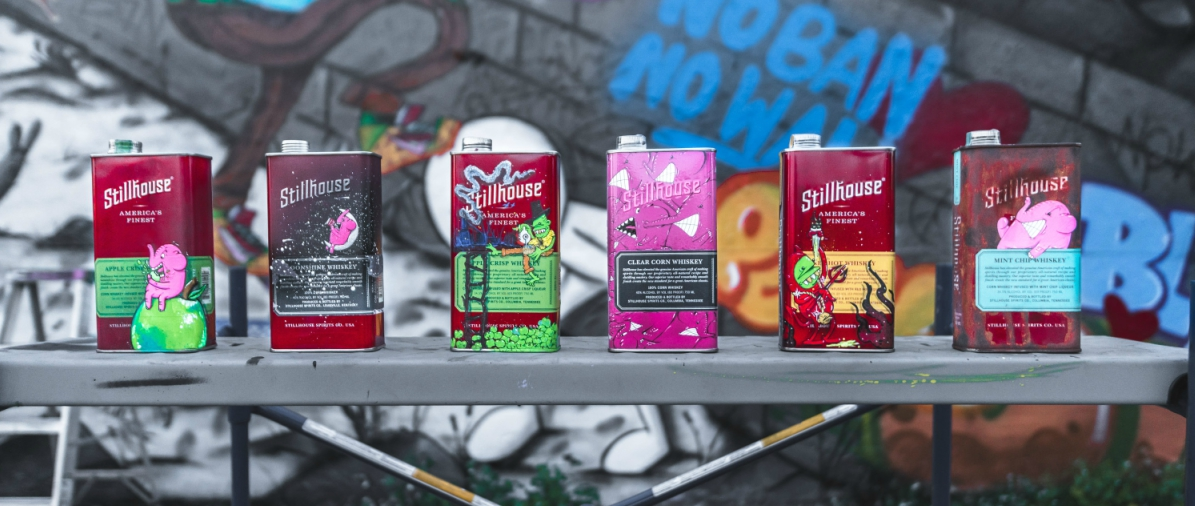 Art of the Can - Commissioned graffiti artists to tell their story using the Stillhouse can. This helped the client connect with creators within the street art community and developed some of the most engaging content on the social platforms.