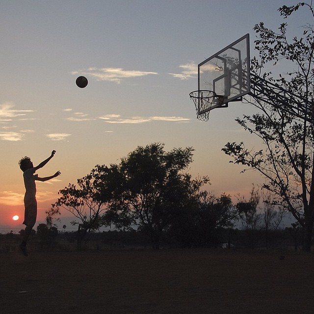 Don't stop till the sun sets.  #ALLFORTHEGAME