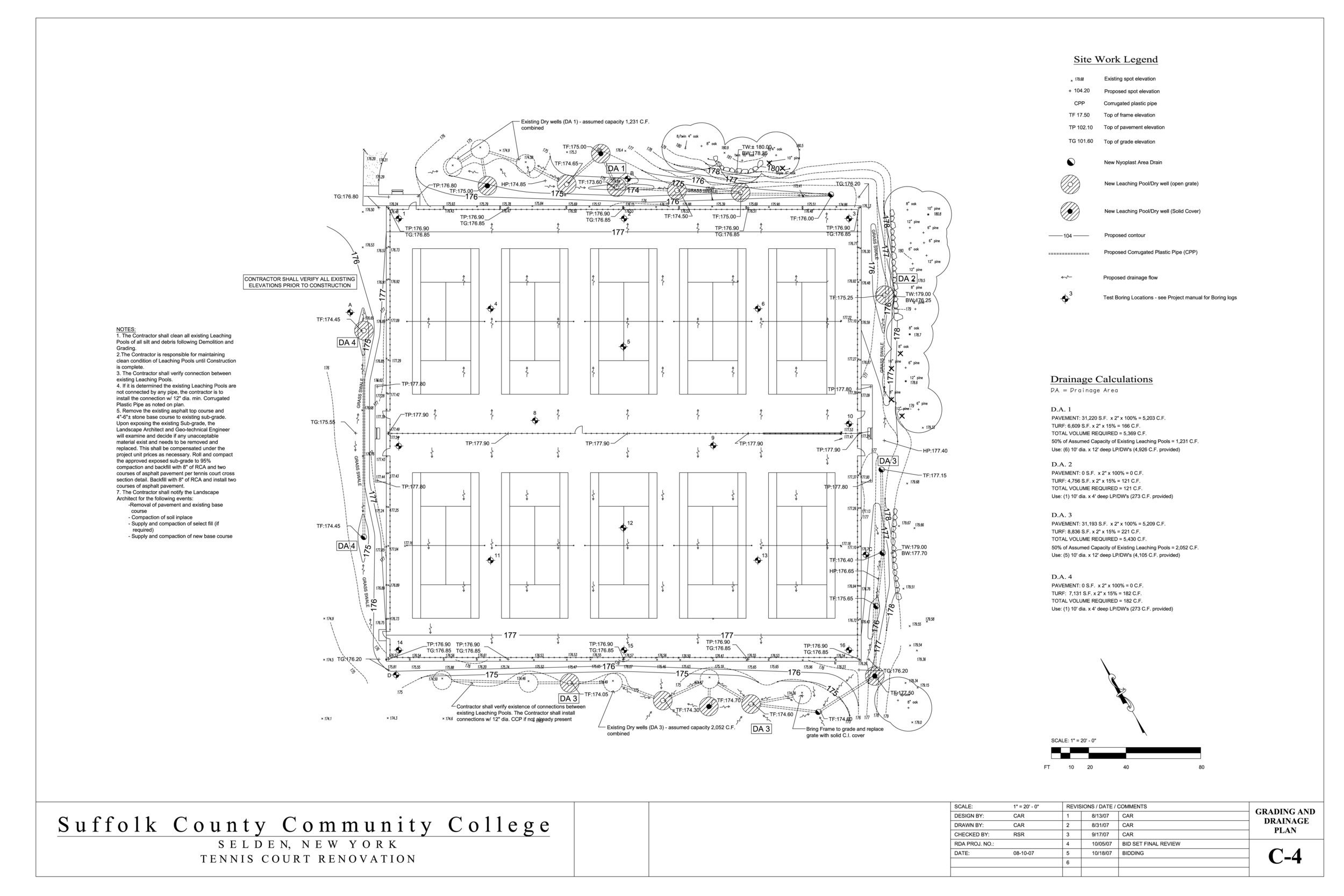 Grading and Drainage Plan