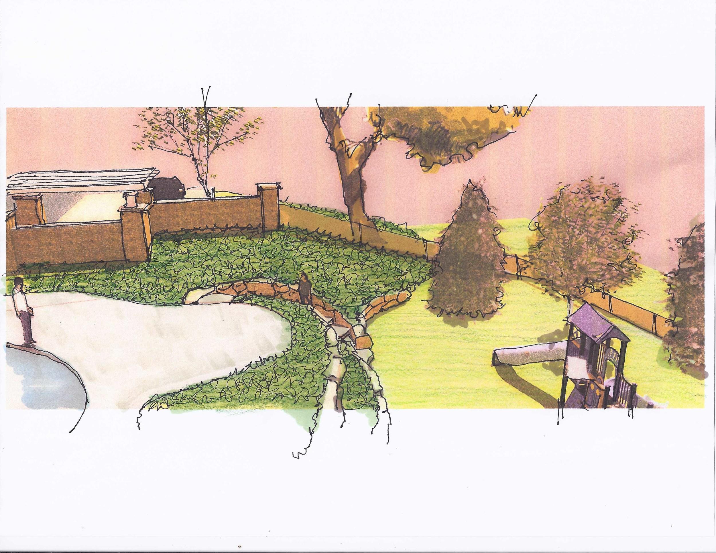 Manhasset Play Area Concept - Render 3
