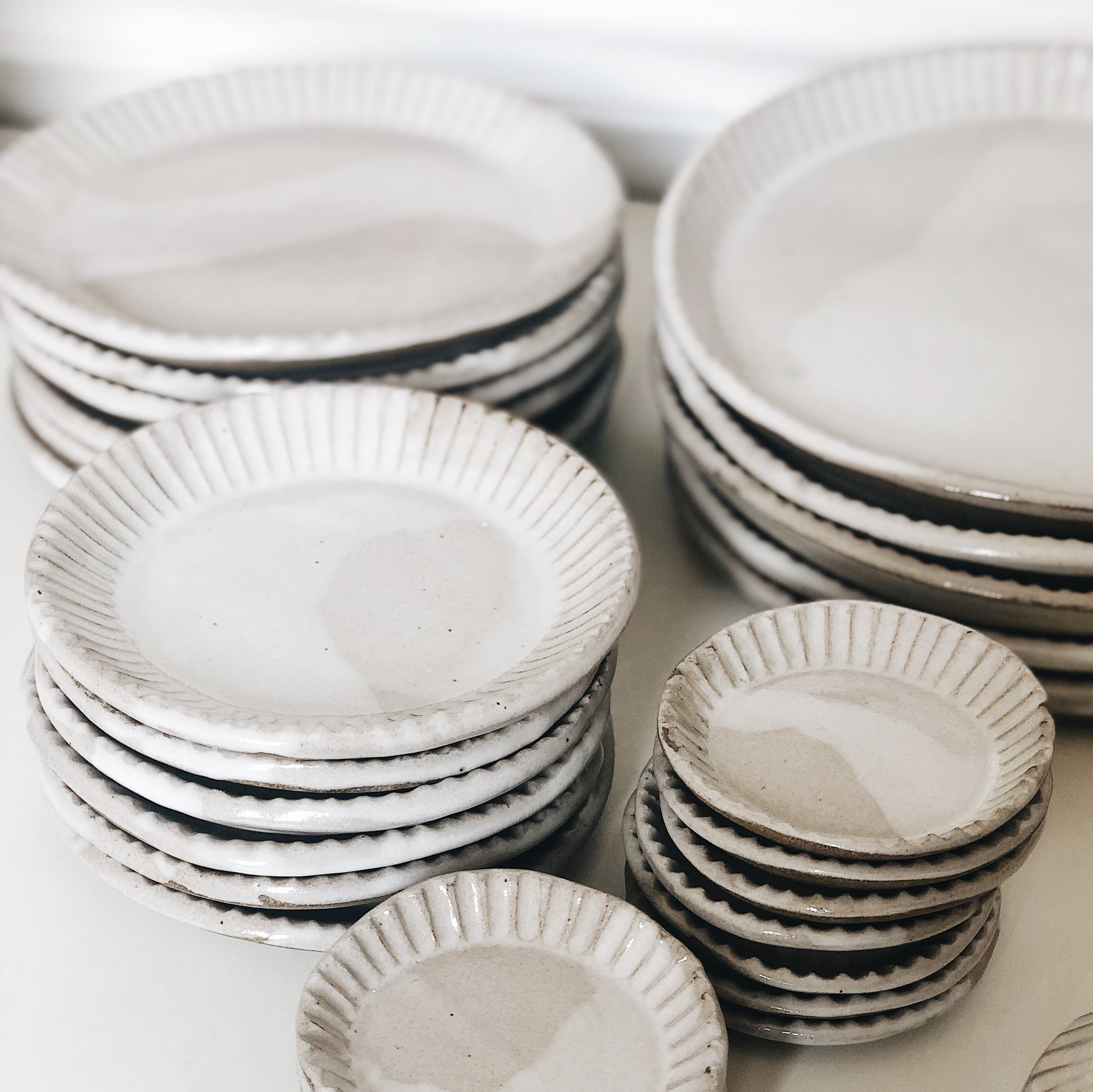 Fluted Dinnerware Collection