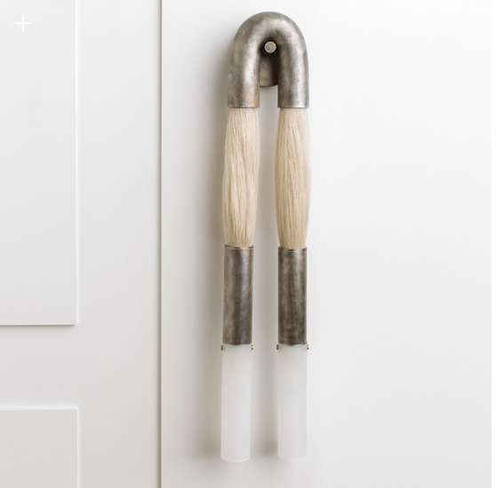horsehair sconce from apparatus