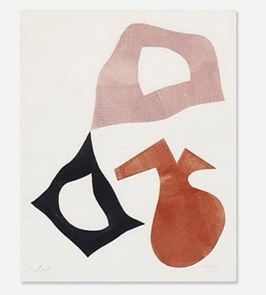 color and shape bull's eye compliments of jean arp