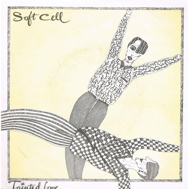 just discovered soft cell's album artwork
