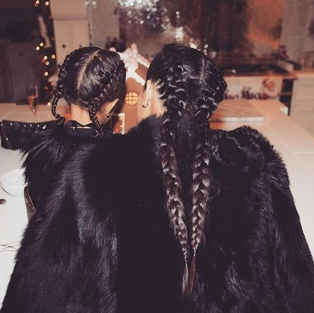 contrast via braids