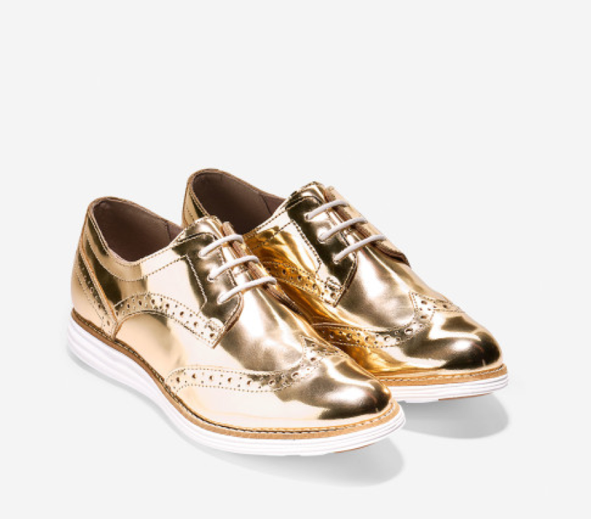 Gold Original Grand Wingtip Oxford