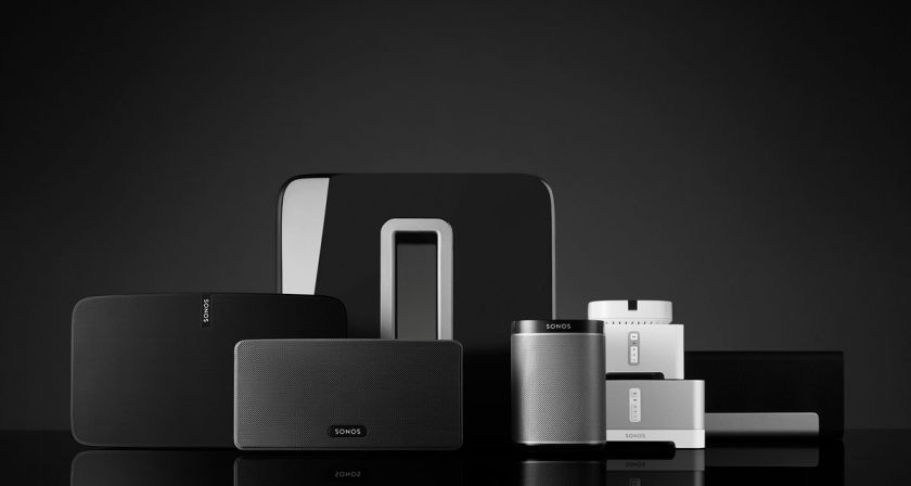Hifi Wireless Speakers and Home Audion System. Image Source: Sonos.com