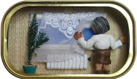 Life in a sardine tin as depicted here by Artist Nathalie Alony. Image Source: http://www.telegraph.co.uk/
