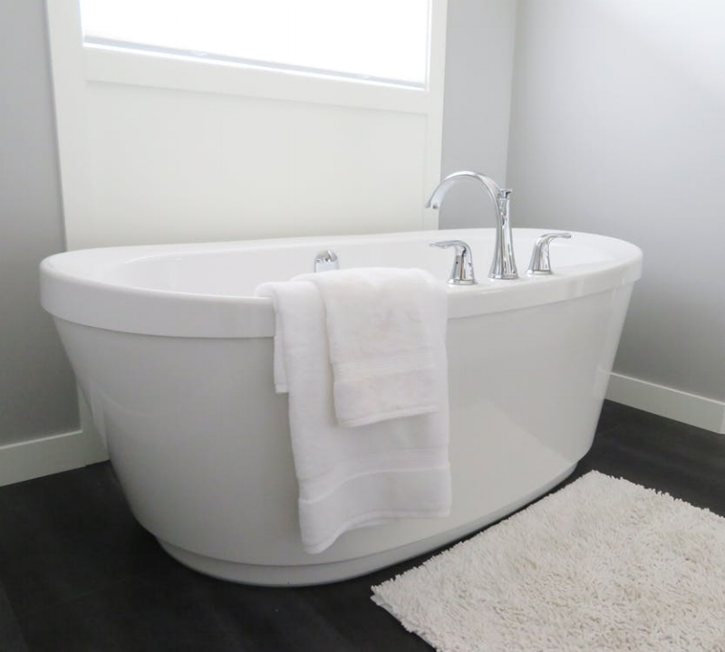 We might all see the same white clean bathroom, but I guarantee the smell we associate with it will be different. Image Source - Pexels.com