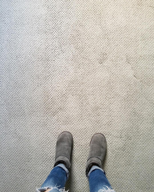 My bug bear - putting in new carpet. Surely a really really really good clean and carefully placed furniture is more efficient. Image SOurce jonesdesigncompany.com