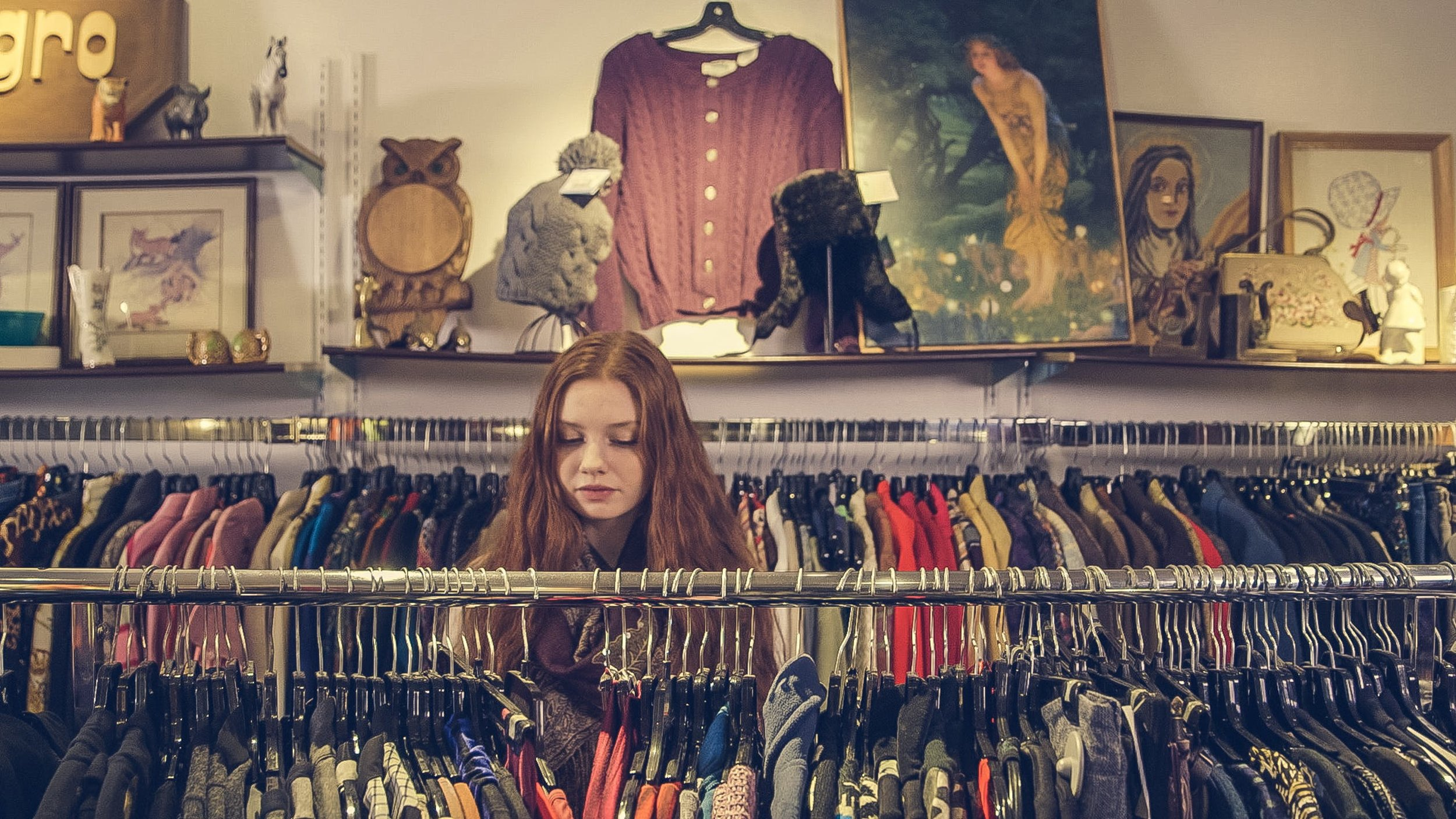 """Opp Shopping is fun. You never know what you're going to find. Sometimes its nothing. So in todays """"i need it now"""" society, it can be hard to deal with. Image Source - Pexels.com"""