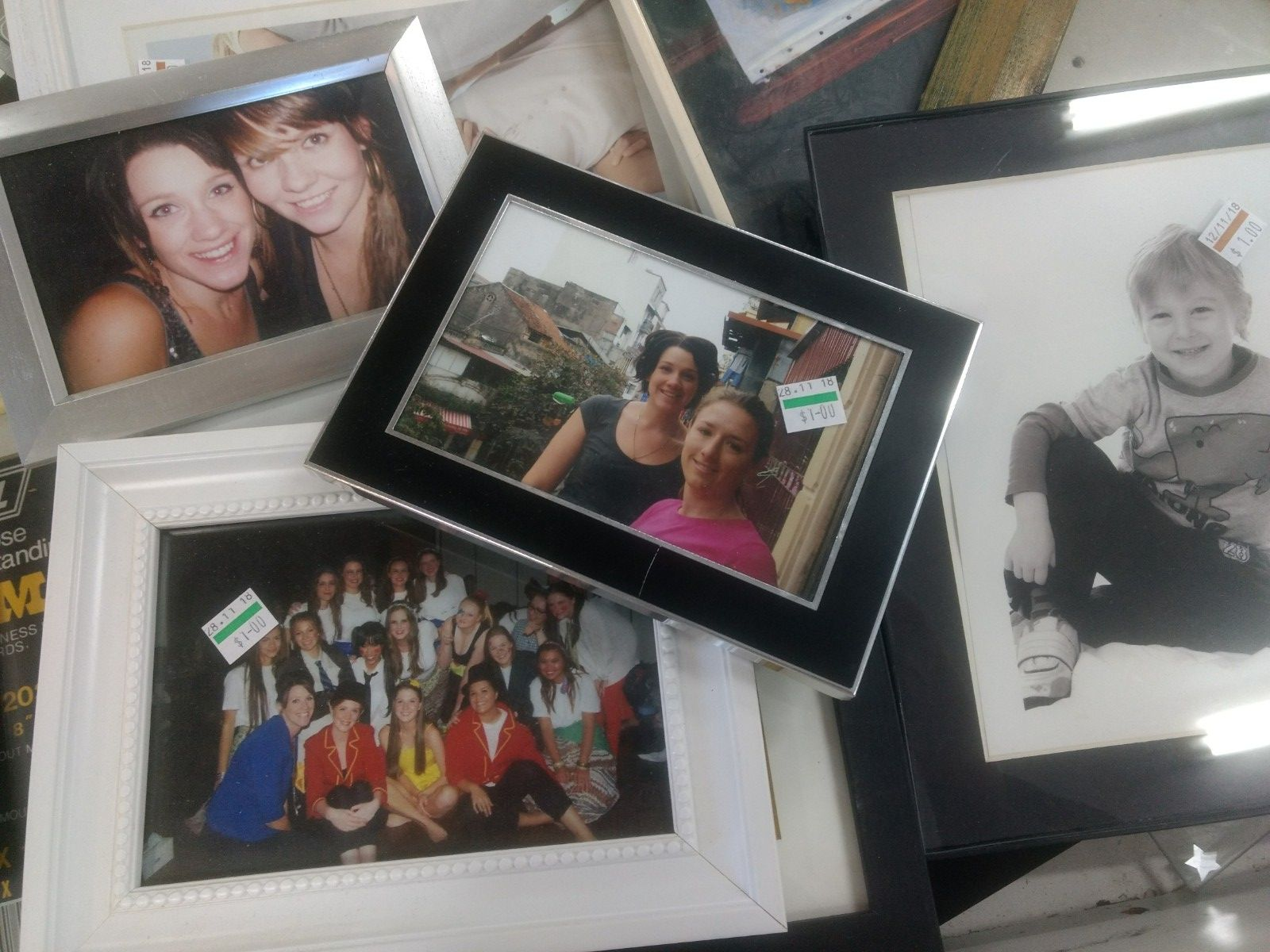 If people are too busy to even salvage their own photos out of photo frames,what are the chances of them moving items on responsibly? . I mean that's your life you're sending to the opp shop for all to see. Know anyone? Image Source - My own.