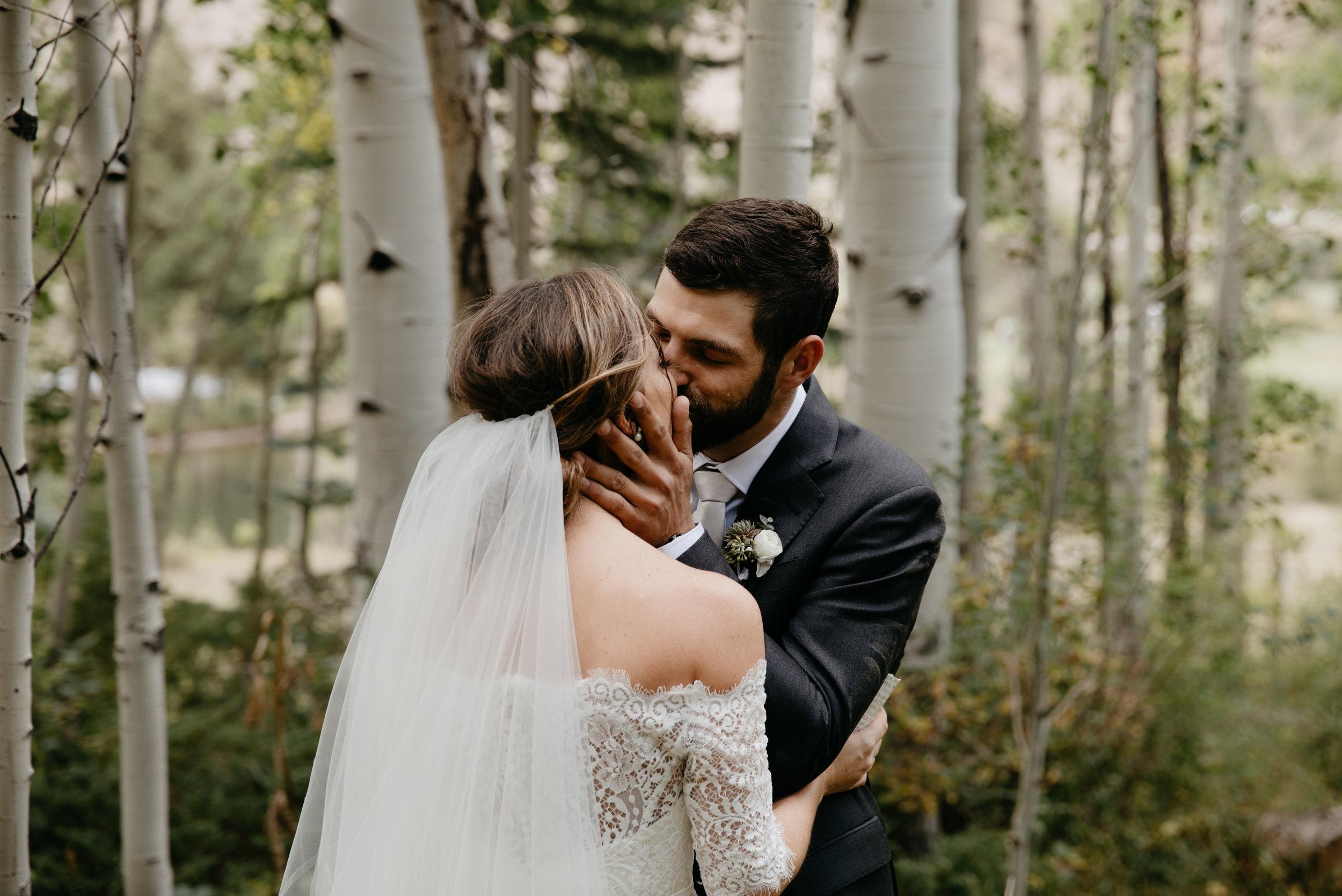 LAUREN + KYLE - CAMP HALE COLORADO WEDDING