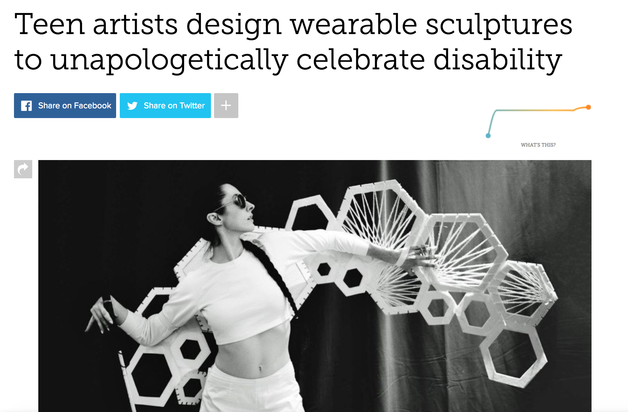 - Collaboration with Heidi Latsky Dance and NuVu Studio featured in Mashable.more…