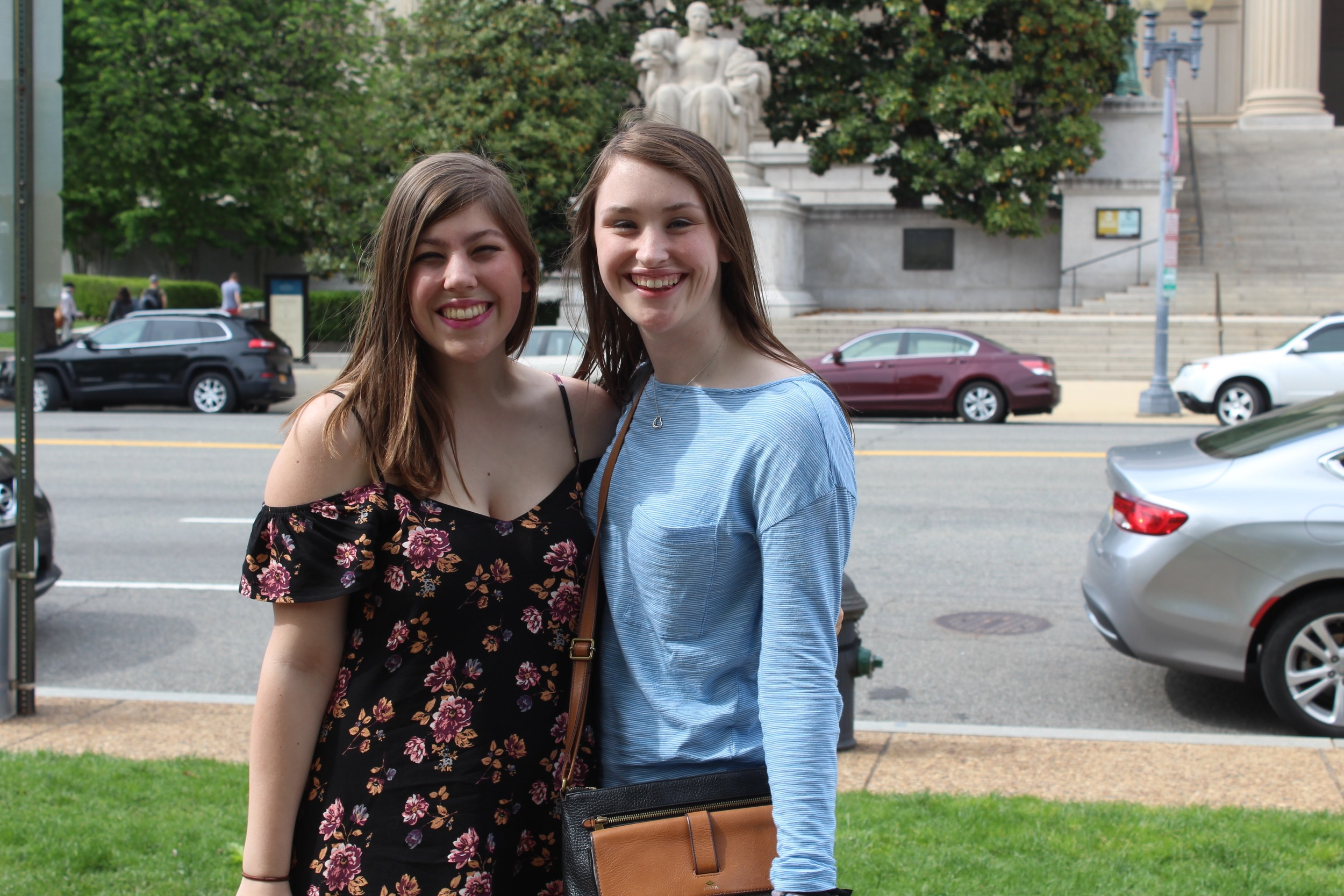 My friend Katie and I outside of the National Archives. Not going to lie...I was totally thinking about National Treasure!