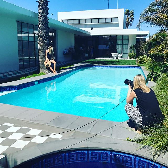 My office today 😃Fabulous day shooting in the sunshine ☀️with the gorgeous @lidija_julija for @auroraspas #summercampaign @grindstonecreative #perfectweather #summer #behindthescenes #photoshoot 🙌