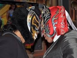 Kamaitachi and Dragon Lee. Feud of the Year in Lucha Libre.