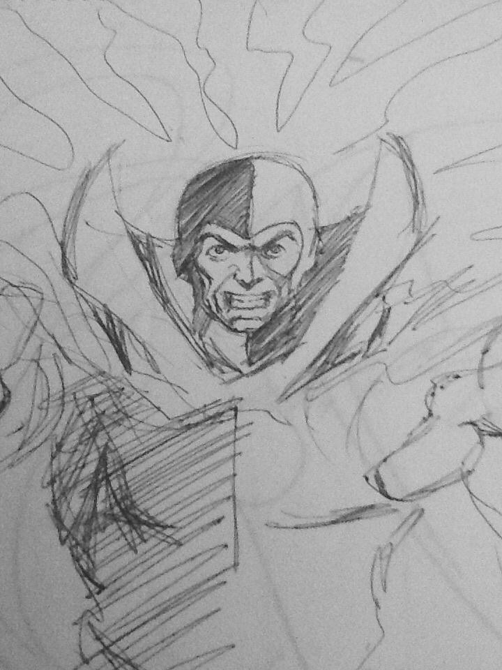 He's Back! Art by Grant Morrison. (C) 2016 DC Comics.