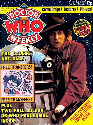 Doctor Who Weekly (now Magazine) issue 1  (C) 2016 Panini