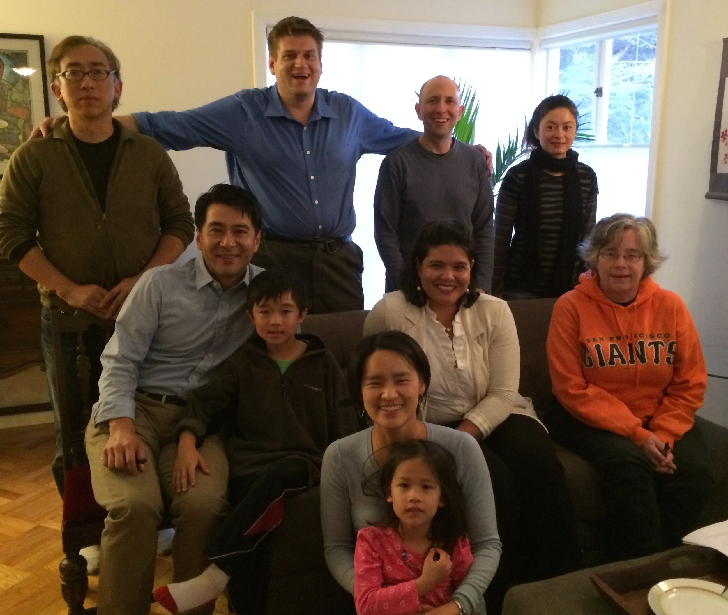 A meet & greet in the Lakeshore neighborhood to discuss how to get moderate Democrats more involved on the Westside.